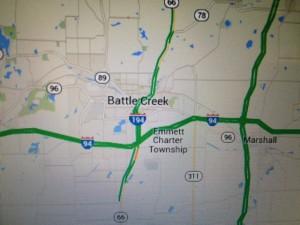 I-94 Map