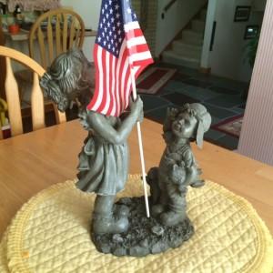 Flag Statue
